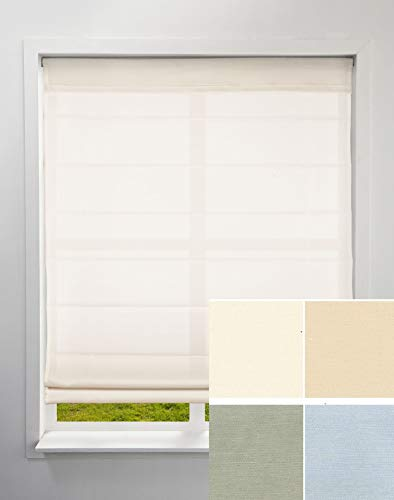 "Arlo Blinds Light Filtering Fabric Roman Shades - Sample Swatch Pack, not a Working Shades, only Approximately 2"" x 2""/Each Color, for You to Review The Color and Fabric Before Ordering Roman Shades ()"