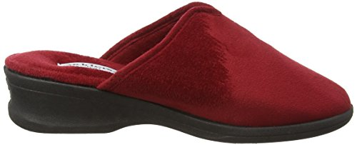Sable Rouge Femme Chaussons Rouge Padders dxa8Ywqd