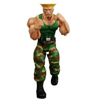 Neca Player - Street Fighter IV NECA Series 2 Player Select Action Figure Guile