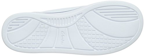 Clarks JupiterHop Jnr - Zapatillas Niños Blanco (White Leather)
