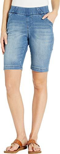 Jag Jeans Women's Gracie Pull-On Bermuda Shorts Horizon Blue 6 (28