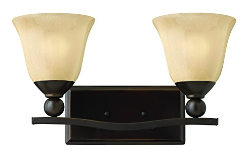 - Hinkley 5892OB Transitional Two Light Bath from Bolla collection in Bronze/Darkfinish,
