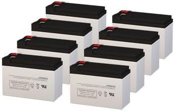 12 Volt 9 AH Rechargeable Sealed Lead Acid Battery by SigmasTek (8 Pack)