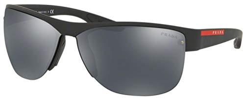 Prada ACTIVE PS17US Sunglasses DG05L0-68 -, Grey Mirror Black ()