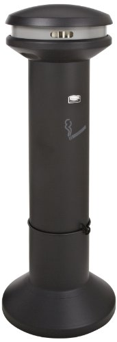 Smokers Urn (Rubbermaid Commercial Infinity Ultra-High Capacity Smokers Station, Black, FG9W3400BLA)
