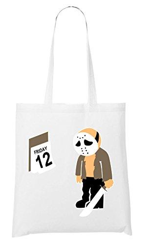 Venerdì 12 Bag Bianco Omologato