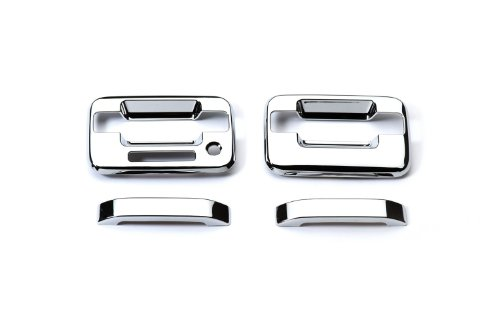 (Putco 401011 Chrome Trim Door Handle Cover)