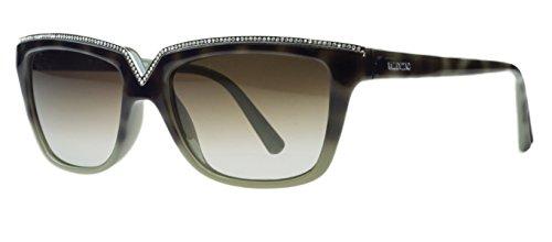 VALENTINO Sunglasses V646SR 232 Havana/Sage 53MM