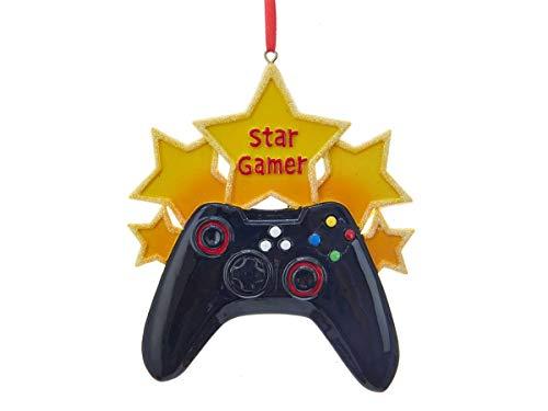 Kurt Adler Star Gamer Decorative Hanging Ornament (Christmas Ornaments Xbox)