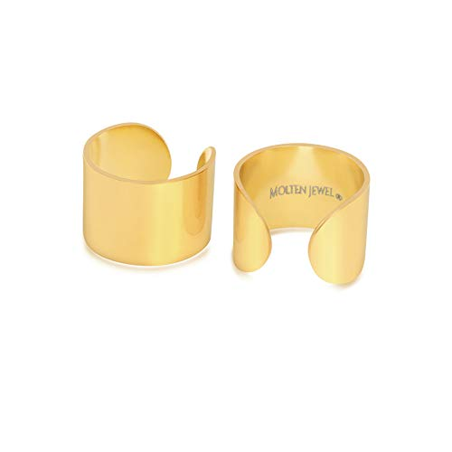 14k Plated Gold Ear Cuff |...