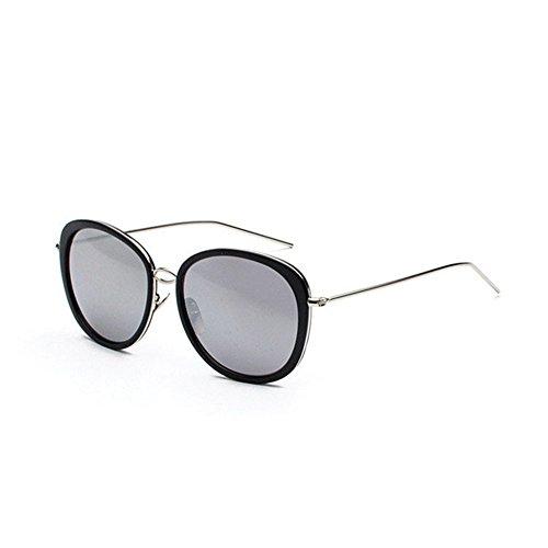 Aoligei Lunettes de soleil style star Big frame mode pour cent shopping lunettes section de marée 350q4E