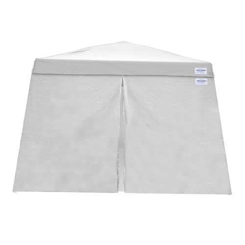 Caravan Canopy 11207812014 Set for 81 sq.ft. V-Series Slant Leg 12x12 Canopy Sidewall, White