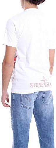 Stone Island Fashion Man 721523386V0001 White Cotton T-Shirt | Spring Summer 20