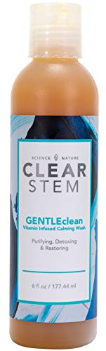 - GENTLEclean - Vitamin Infused Skin Cleanser, Makeup & Oil Remover, Safe for All Skin Types, Non-toxic & Environment-friendly, Acne-safe and No Secret Pore Cloggers - Made in the USA - 6 fl oz.
