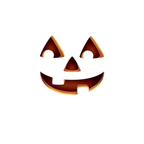Oliver's Labels Jack-o-Lantern Door Monster Hallowen Decorative