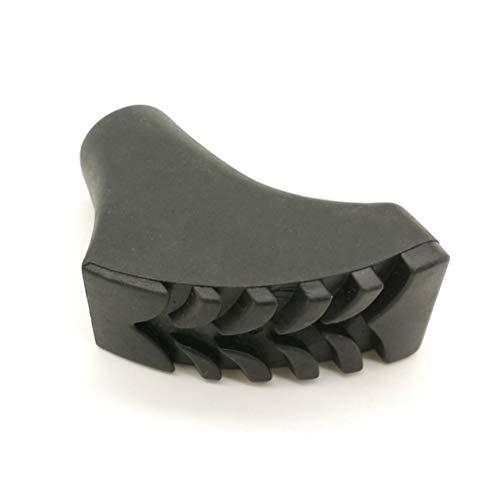 Amortiguadores Agarre y Repuesto de Puntas de Bastones Resistente tracción de para Goma Punta agrega Polo Trek VORCOOL Piezas Engrosada de Protección de de fijadas 4 xBR4xg