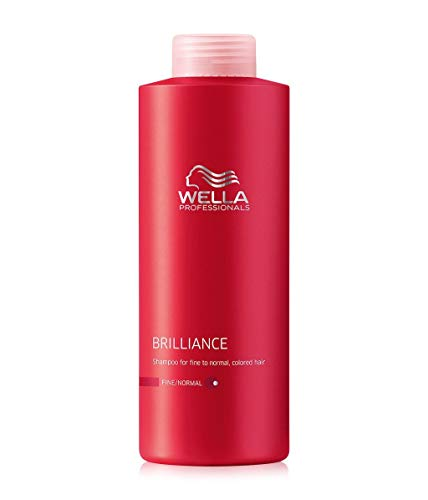 Wella Brilliance Shampoo for Fine To Normal Colored Hair for Unisex, 33.8 Ounce (Best Shampoo For Normal Hair)