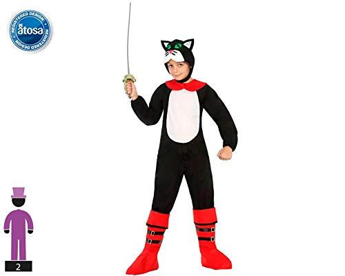 Atosa-22118 Disfraz Gato, color negro, 5 a 6 años (22118): Amazon ...