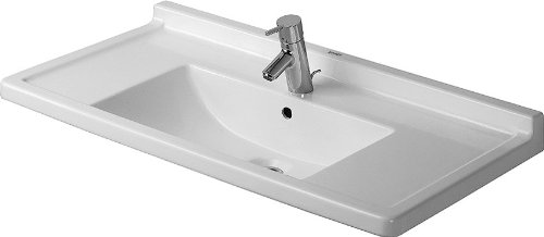 Duravit 030480-00-00-1 Starck Furniture Washbasin Self Rimming