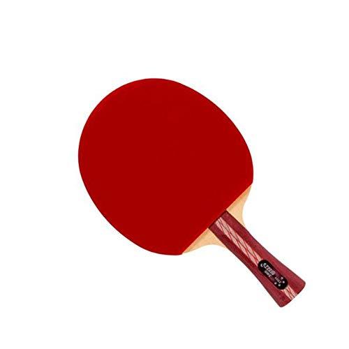 Kalmar Table Tennis Racket, Horizontal Shot, Pen-Hold Double-Sided Anti-Stick arc Combined with Fast Break 4 Stars, (Single Piece) Professional Training/Recreational Racquet Kit