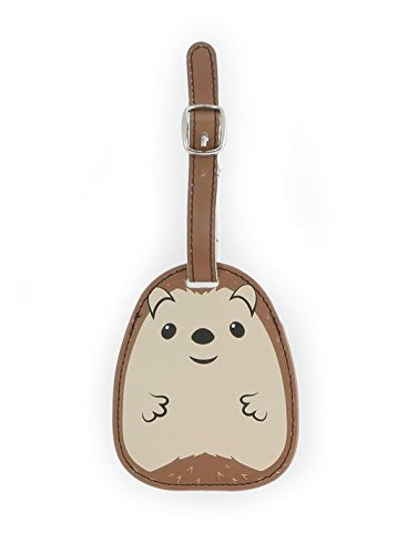 Kikkerland Luggage Tag, Hedgehog (TT27)