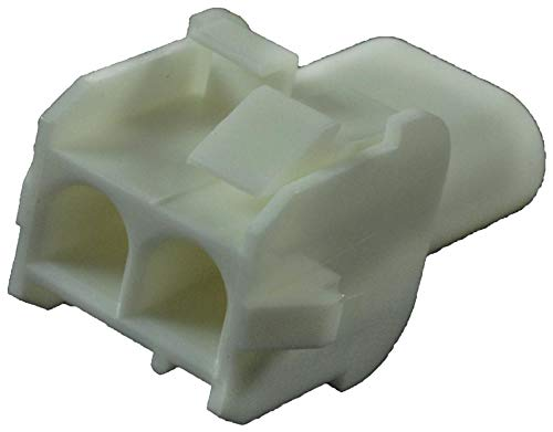 2 Positions TE CONNECTIVITY Connector Housing 6.35 mm Receptacle Universal Mate-N-LOK Series AMP 350778-1