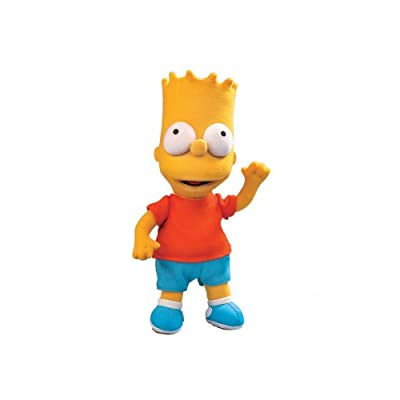 Russ Berrie Plush 12-Inch Bart Simpson: Toys & Games