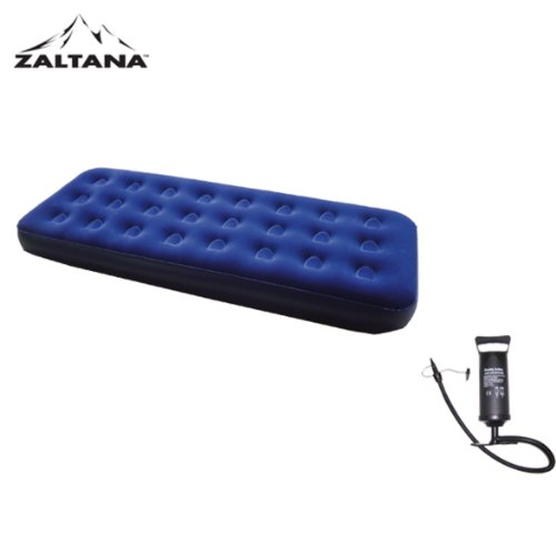 Single size Airmattress with double action 5L Air Pump, Outdoor Stuffs