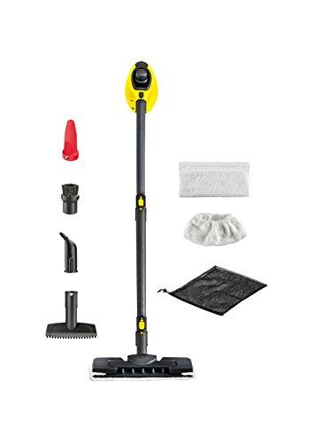 Kärcher SC1 Premium Steam Cleaner, Handheld and Steam Mop In One - Yellow