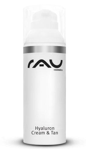 RAU Hyaluron Cream & Tan (50 ml / 1.7 oz) - Moisturizing, Anti-Aging and Self-Tanning Cream by RAU Cosmetics
