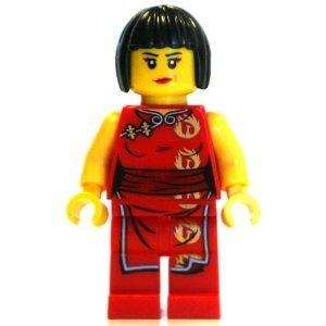 LEGO Ninjago Minifigure - Nya Female Red Ninja