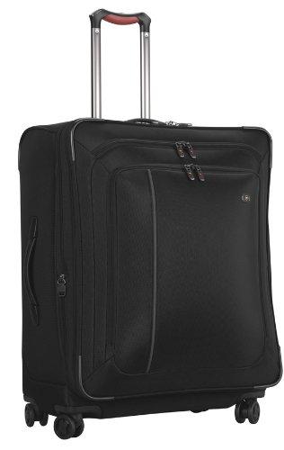 (Victorinox Luggage Werks Traveler 4.0 WT 27 Dual-Caster, Black, 27)