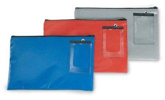 Round Trip Bag - Charnstrom 18 L x 14 H Inches Vinyl Round Trip Mail Pouch, Blue (2926)