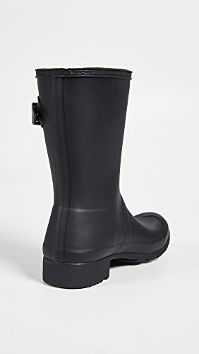 Womens Short Hunter Tour Rain Boots Black Packable Original gqndnH6