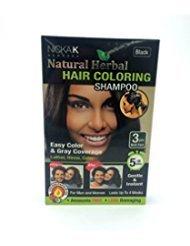 Hair Coloring Shampoo Black 3pcs ()