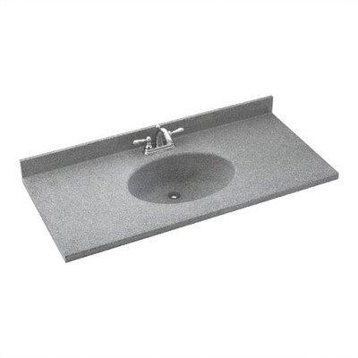 Swanstone Utility Sinks - Swanstone CH02237.040 CH1B2237 22 1/2X37 CHESAPEAKE VT BERM