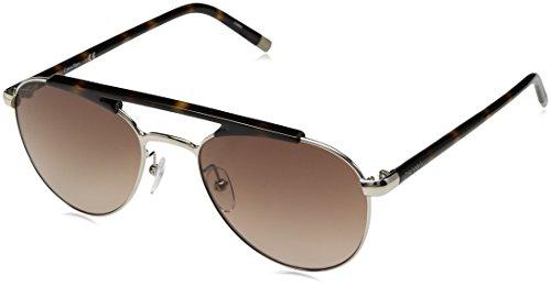 Calvin Klein Men's Ck1220s Aviator Sunglasses, Light Gold, 54 - Men Calvin Sunglasses Klein