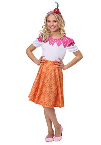 Girls Ice Cream Cone Costume Medium for $<!--$29.99-->