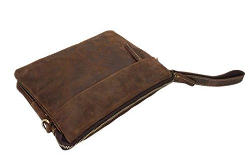 Compras Bao Mano Cuero De Hombres Vintage viajes Generosidad Bolso Simple Para rqUrxzE