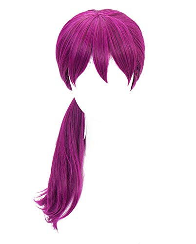 DAZCOS K/DA Cosplay Wig 2018 New Sytle (Purple)