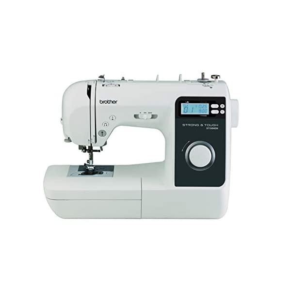 Brother ST150HDH Strong and Tough Computerized Sewing Machine, White