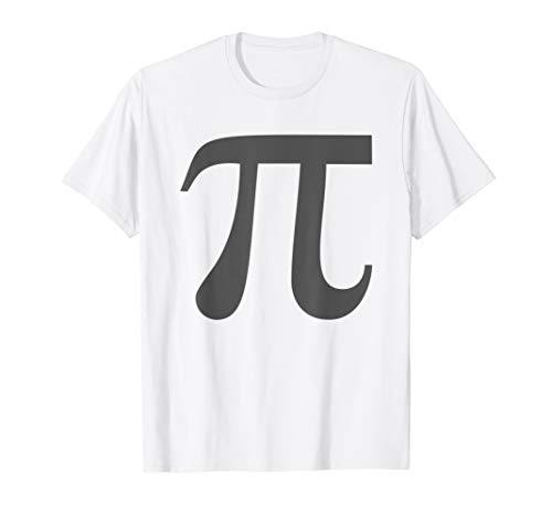 Easy Halloween Costume Idea Pumpkin Pi Math Couples T-Shirt