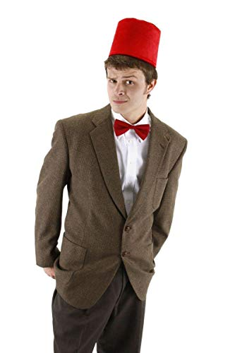 elope Doctor Who Fez & Bowtie Set, One Size -