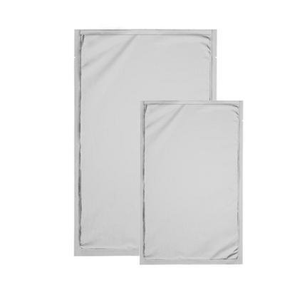 Metallic Heat-Seal Bags, 2.5 mil SilverPAK w/ Tear Notch, 8'' x 12'' by Kapak