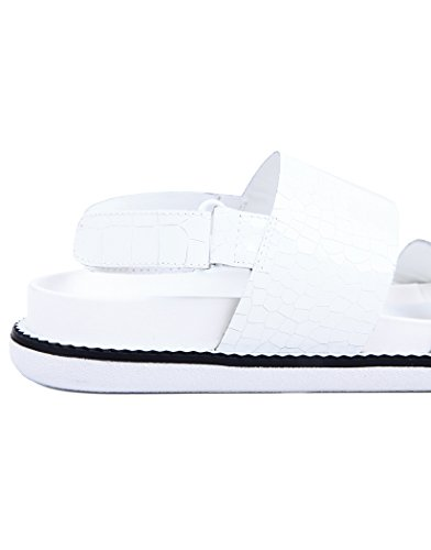 Sandal Flat Karla Ladies I Senso White OFISn8wx