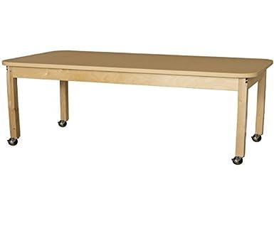 Madera Designs hpl307222 C6 - Funda para mesa rectangular Laminado ...