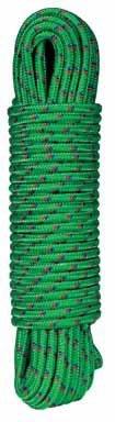 """Wellington Cordage #87892NT 3/8""""x100' Saxon GP Rope"""
