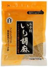 いり胡麻 白 100g /まるほ食品(2袋)
