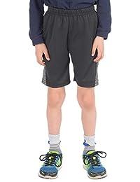 KAAP Athletic Boy's Melange Knit Activewear Shorts