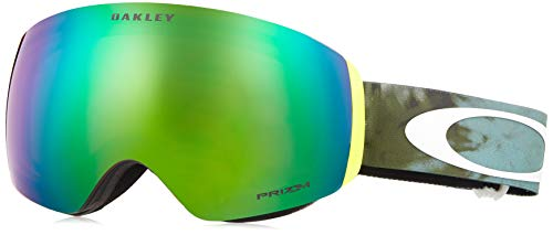 - Oakley Flight Deck Asian Fit Snow Goggle, Tranquil Flurry Retina, Medium
